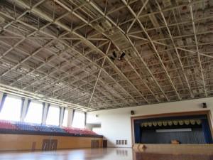 福島県県営白河体育館(現、白河中央体育館)